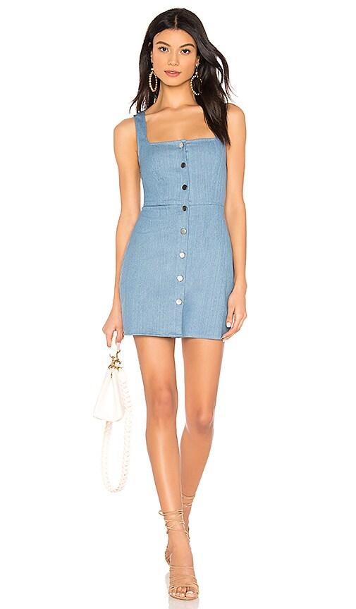 Demi Button Up Mini Dress