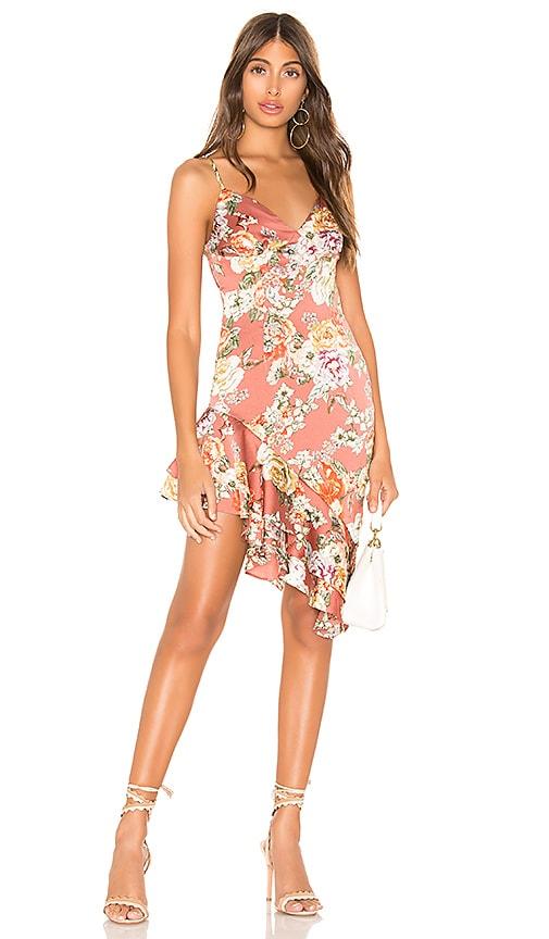 Lilia Asymmetrical Ruffle Dress