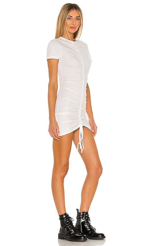 SUPERDOWN Clothing YASMINE RUCHED TIE DRESS