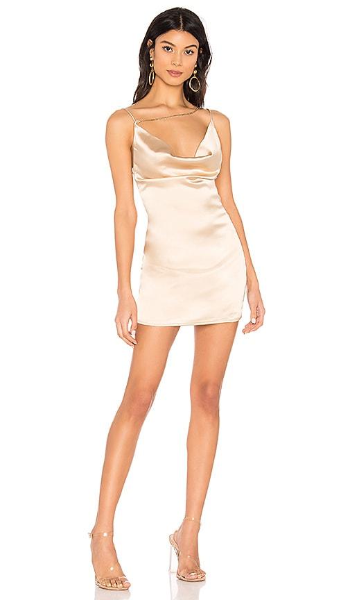 Zahra Asymmetrical Cowl Dress