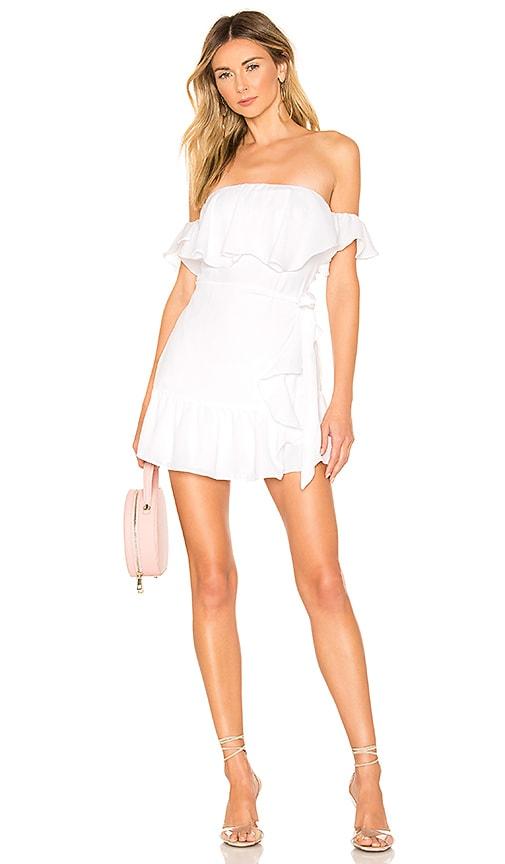 Jolene Ruffle Wrap Dress