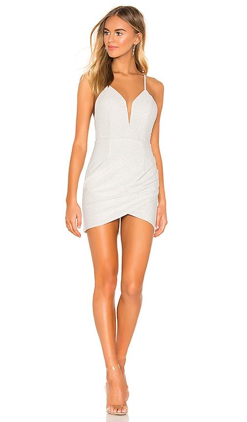 Porsha Wrap Front Dress