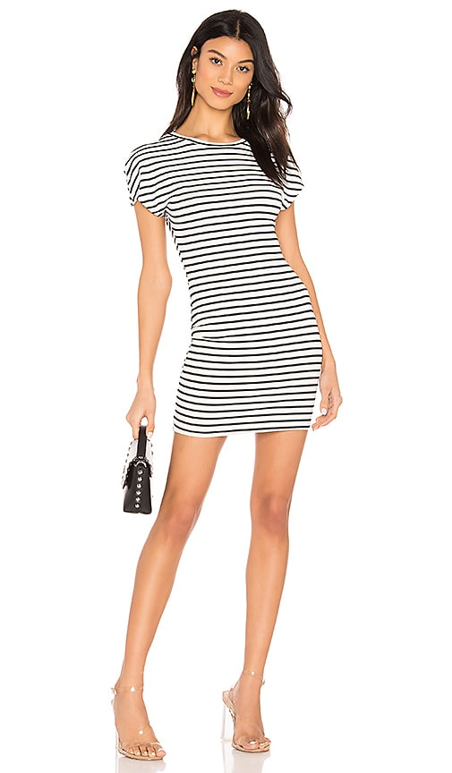 Bea Striped Tee Dress