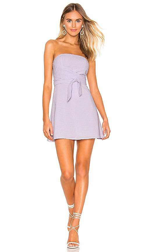 019bc16b70 superdown Jency Wrap Tube Dress in Lavender