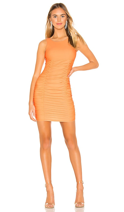 Tanisha Ruched Mini Dress