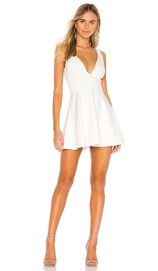 Vika Deep V Dress