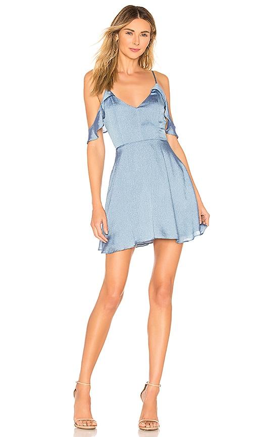 Jeanie Flutter Sleeve Dress