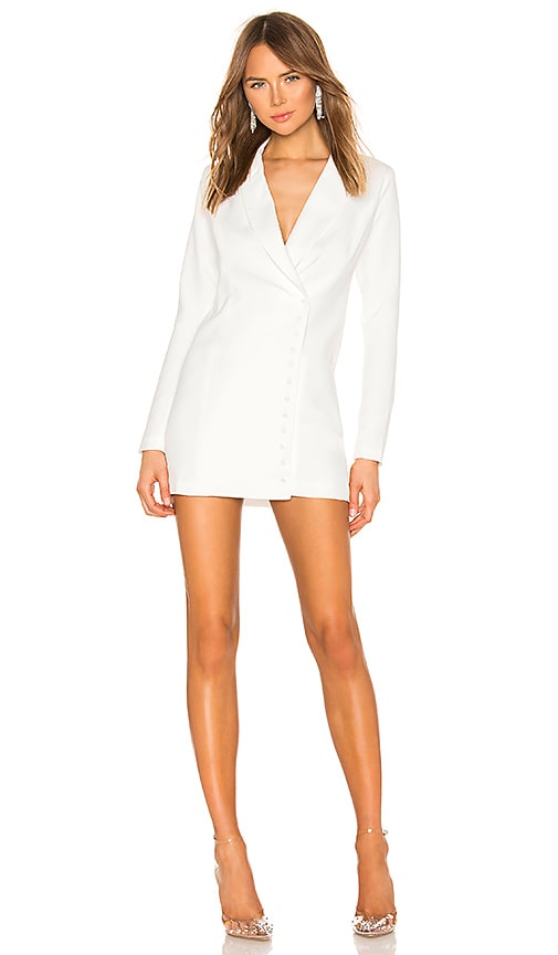 Armida Button Blazer Dress