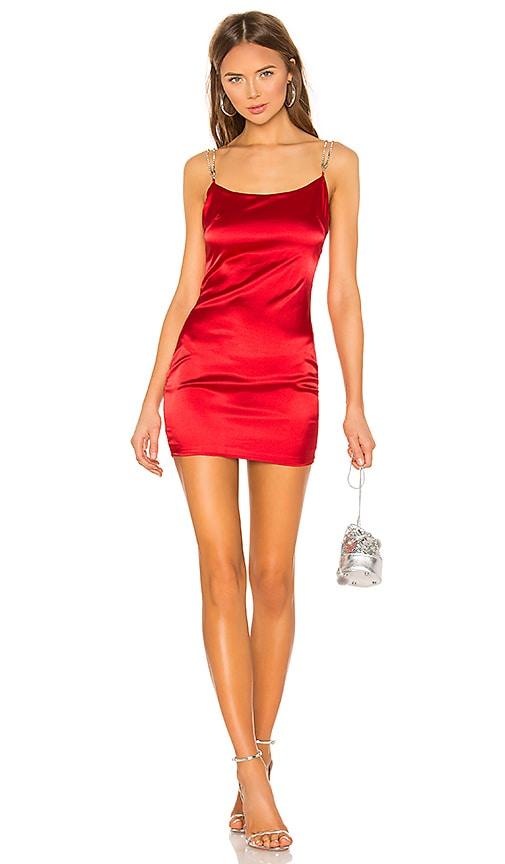 Tijana Rhinestone Strap Dress