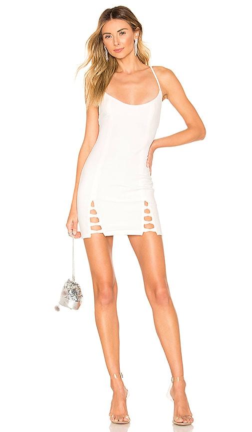 Savannah Lace Up Dress