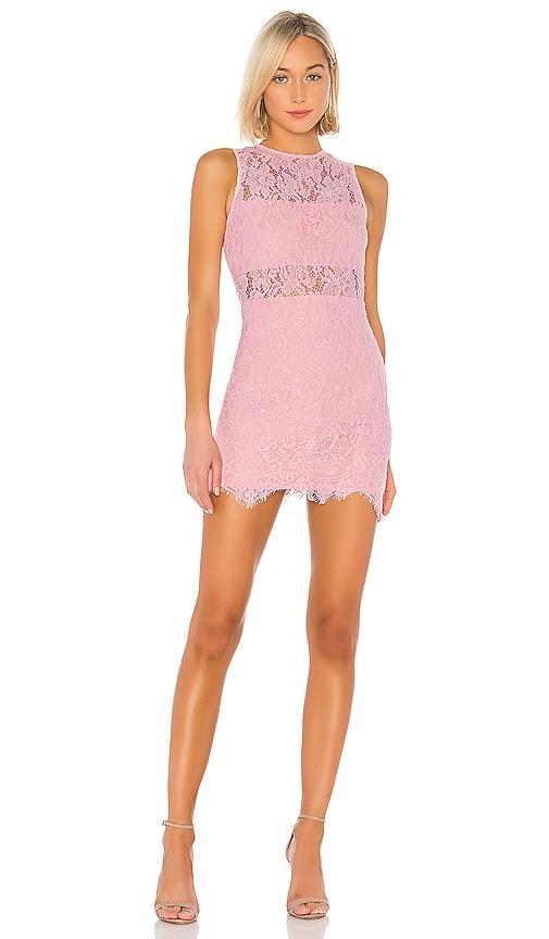 Suri Sleeveless Mini Dress in Pink