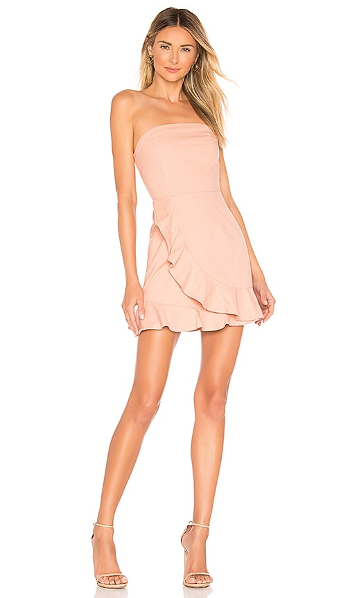 Rosie Strapless Ruffle Dress