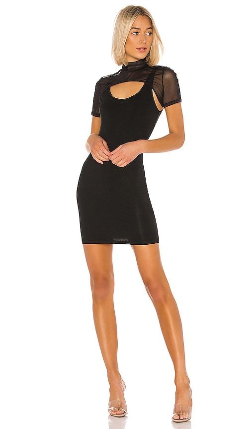 superdown Tavi Mini Bodycon Dress in Black   REVOLVE
