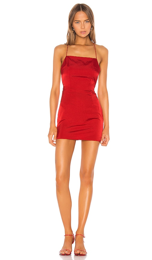 wide varieties outlet on sale outlet store superdown Autumn Slip Mini Dress in Red | REVOLVE