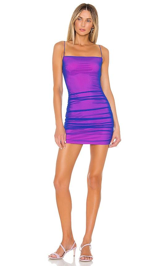 Issa Mesh Mini Dress