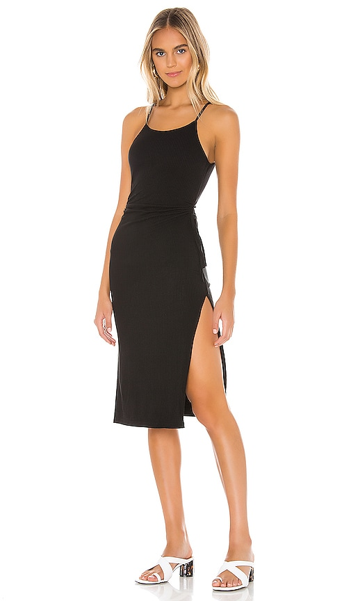 Kourt Ribbed Dress by Superdown