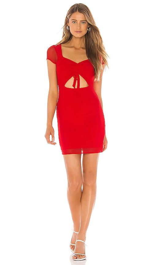 Claire Mesh Mini Dress