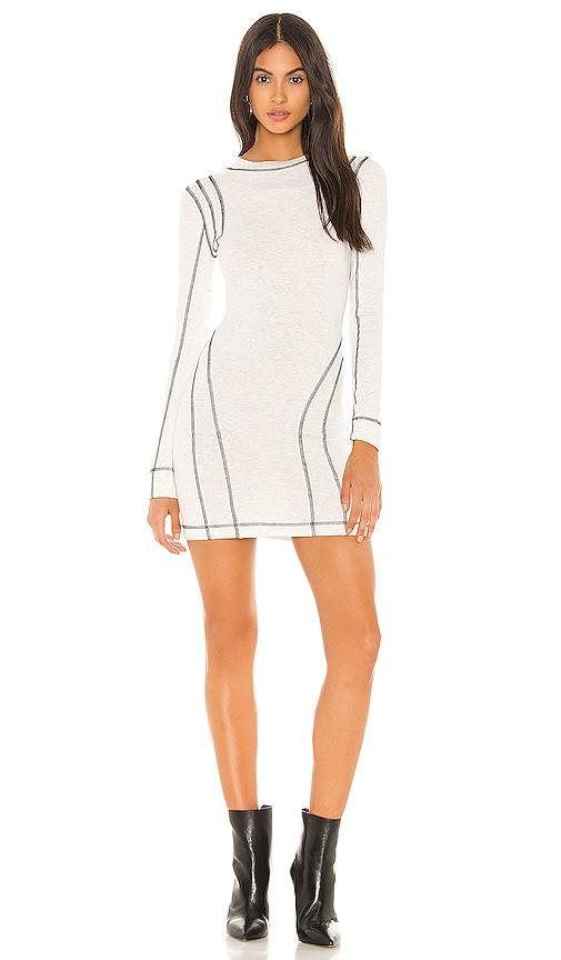 Jaylyn Mock Neck Mini Dress by Superdown
