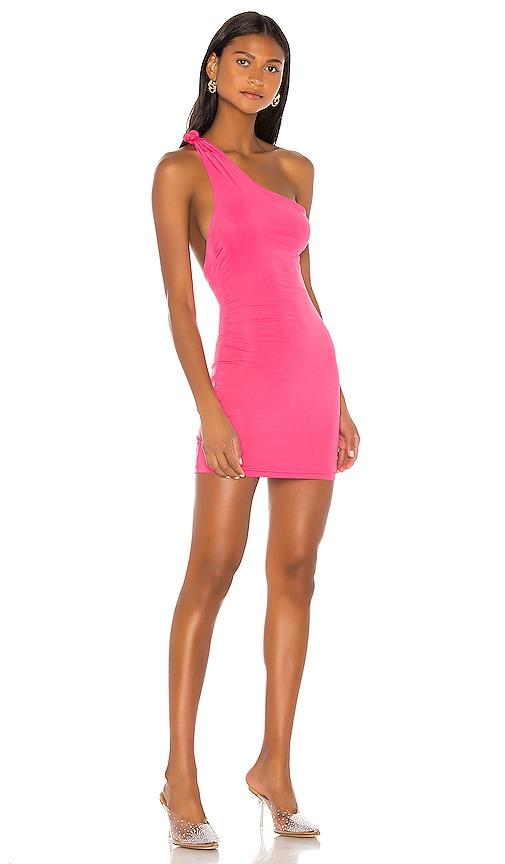 superdown Krissy Knot Mini Dress in Pink | REVOLVE