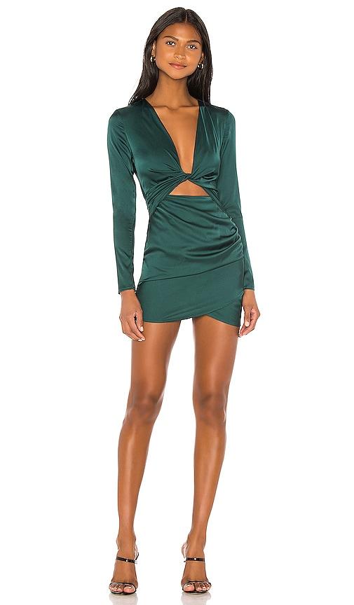 Melissa Twist Front Dress by Superdown