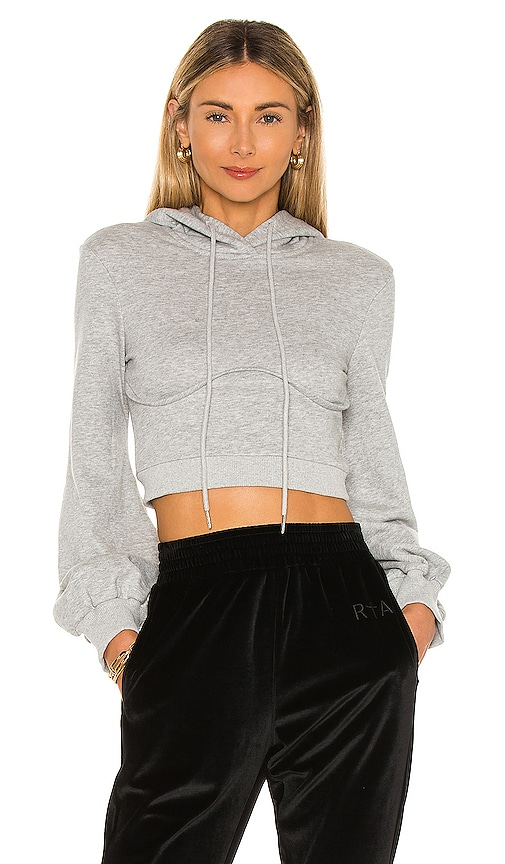 Superdown CHRISTINE CROP HOODIE