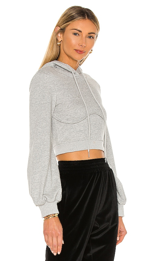 SUPERDOWN Clothing CHRISTINE CROP HOODIE