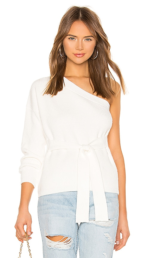 Megan One Shoulder Sweater