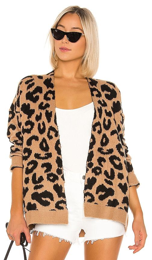 Draya Leopard Cardigan