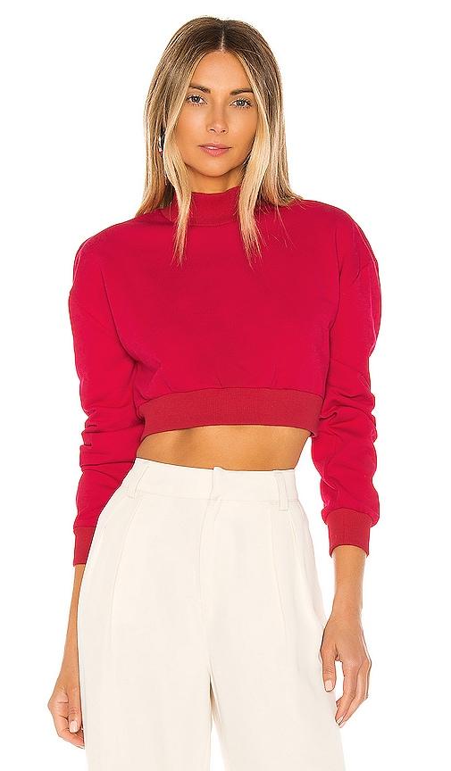 Meghan Crop Sweatshirt