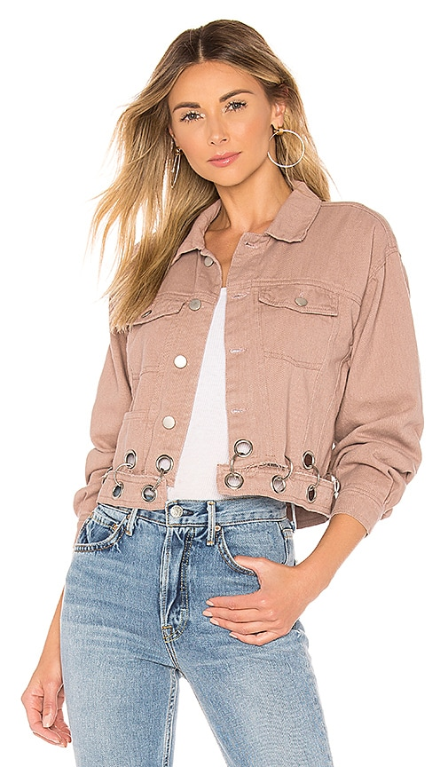 Kylie Crop Denim Jacket