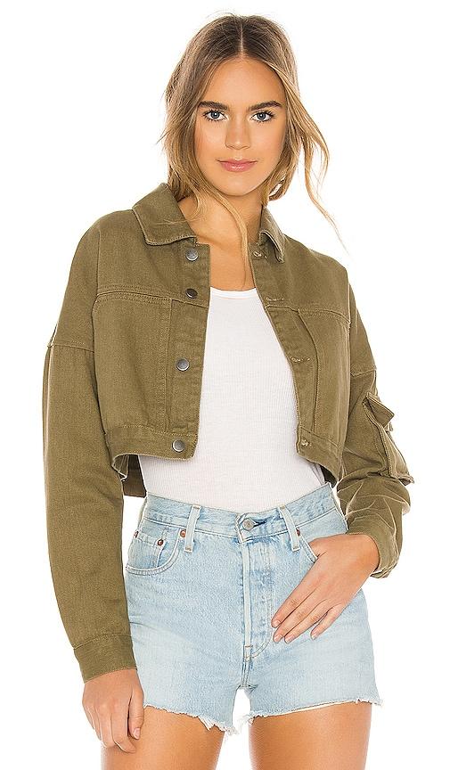 Vanessa Cropped Denim Jacket