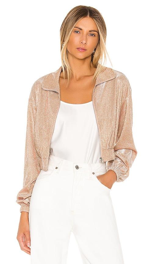 Brianna Metallic Jacket