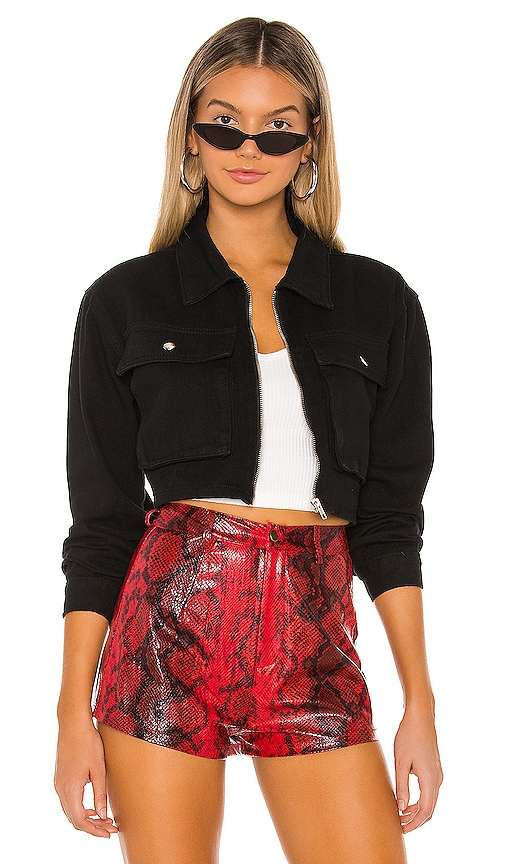 Mona Zip Front Jacket