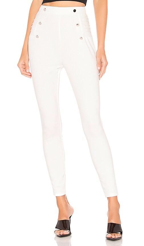 Sadie Side Button Pant