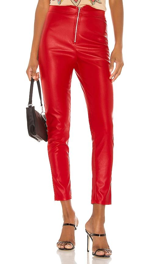 Shonda Faux Leather Pants by Superdown