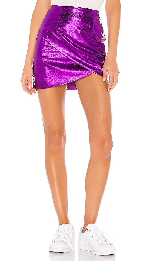 Charmaine Wrap Mini Skirt