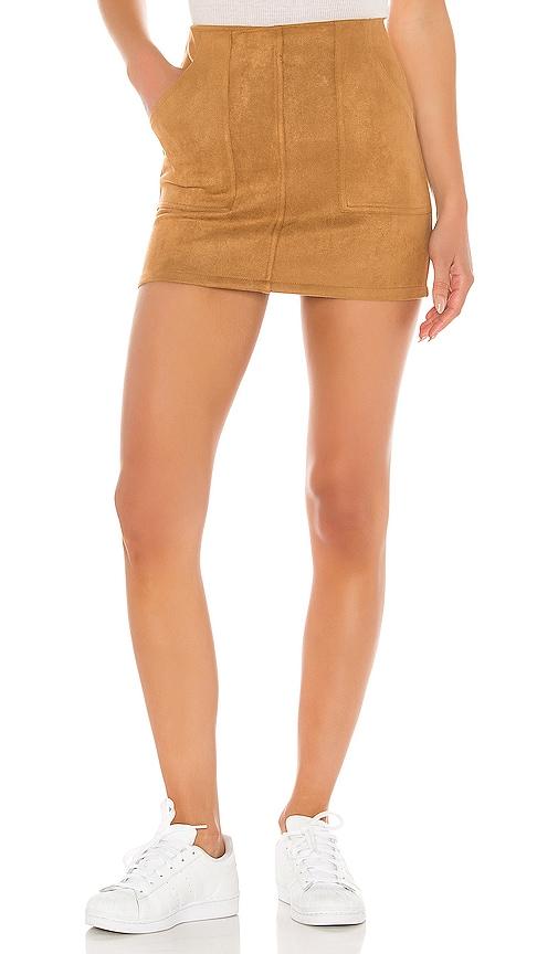 Layla Suede Mini Skirt
