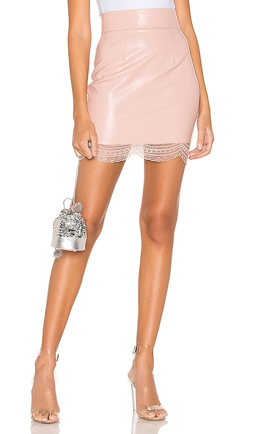 Ambrosia Faux Leather Skirt