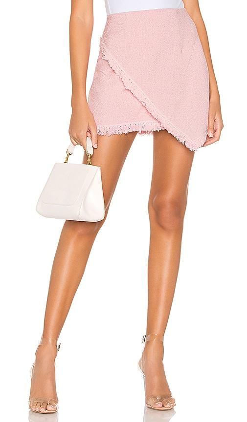 Savana Frayed Hem Skirt