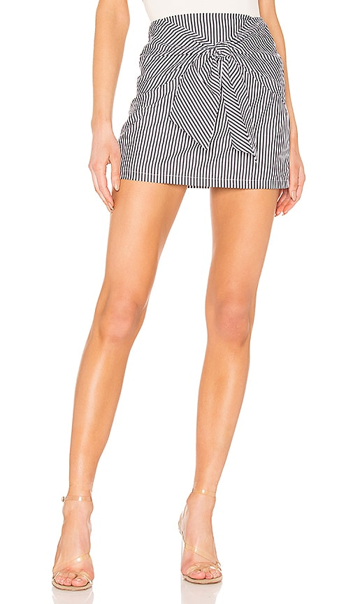Leti Tie Front Skirt