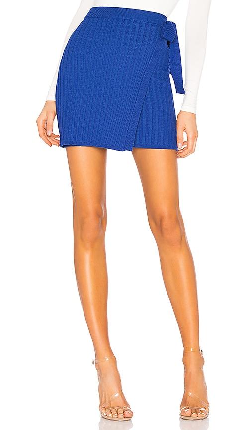 Jodie Knit Wrap Skirt