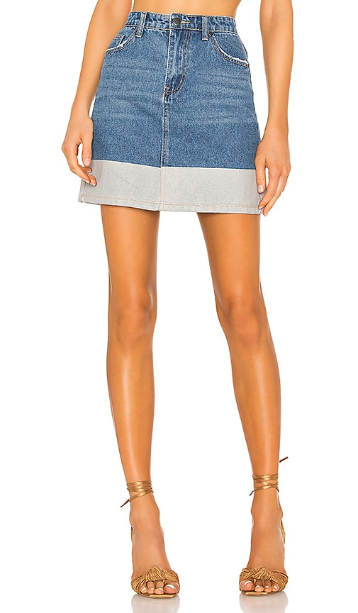 Victoria Denim Skirt