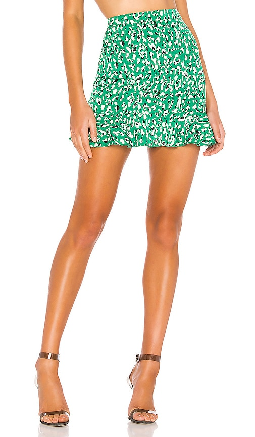 Kelly Ruffle Mini Skirt