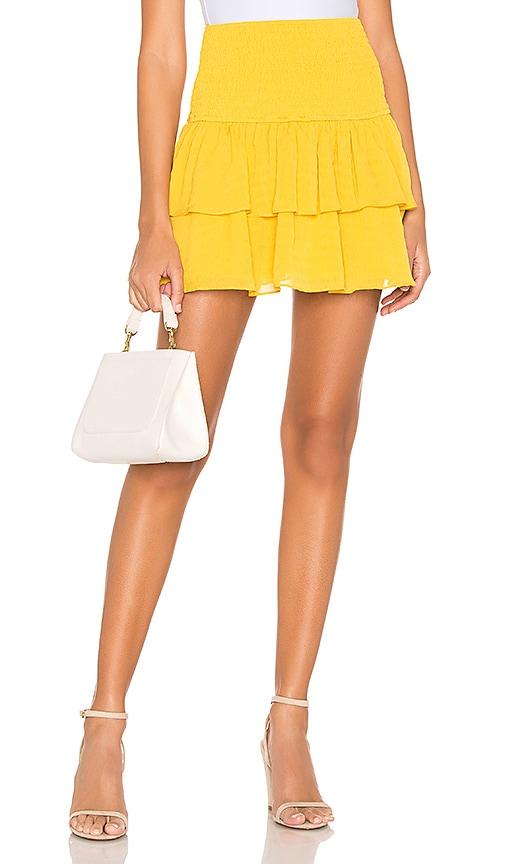 Rae Smocked Mini Skirt