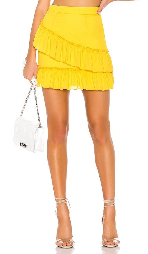 Donnie Frill Mini Skirt