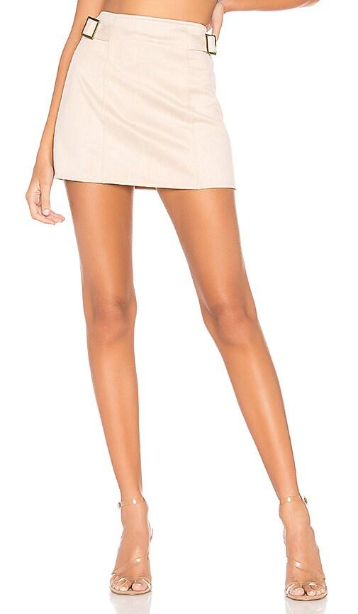 Corilee Suede Skirt