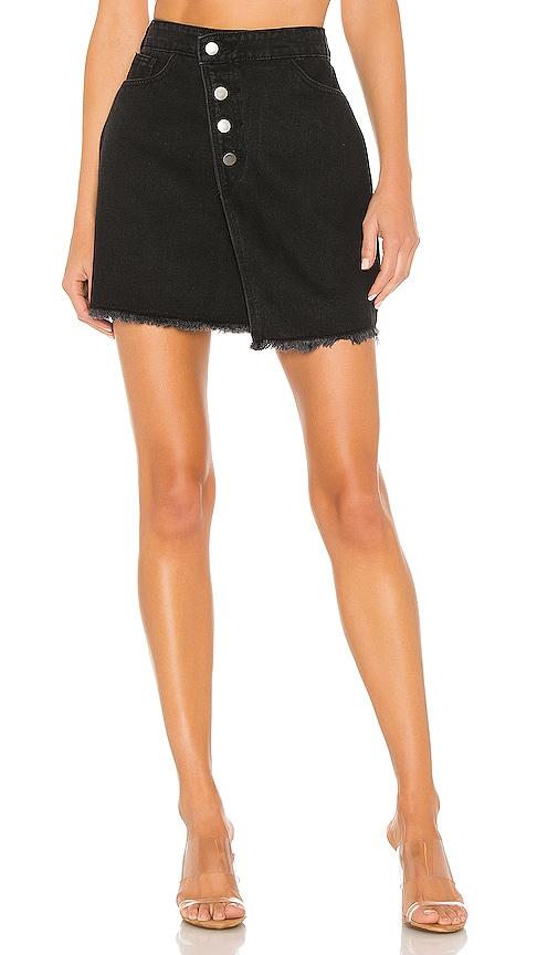 Yasmin Asymmetrical Denim Skirt