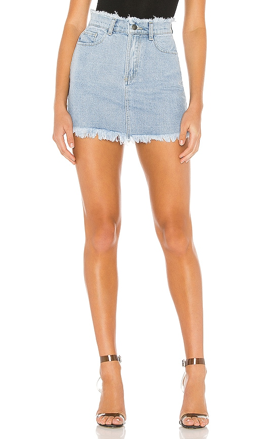 Karen Denim Mini Skirt by Superdown