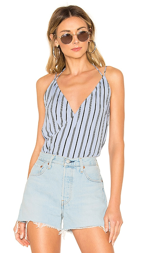 Kennedy Strappy Surplice Top