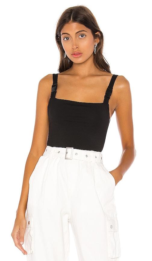 Sabrina Buckle Strap Bodysuit